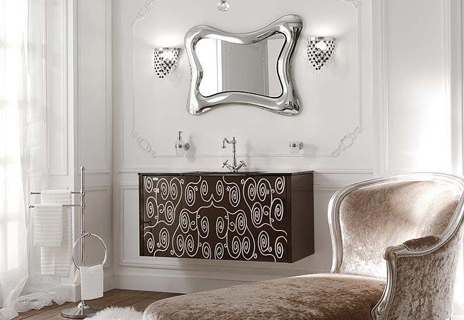 Un arredo bagno ricco di estro e lusso design mobili bagno