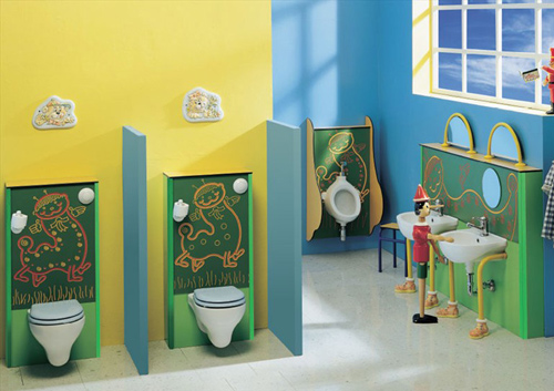l'arredo bagno per i bambini | design mobili bagno - Arredo Bagno Bambini